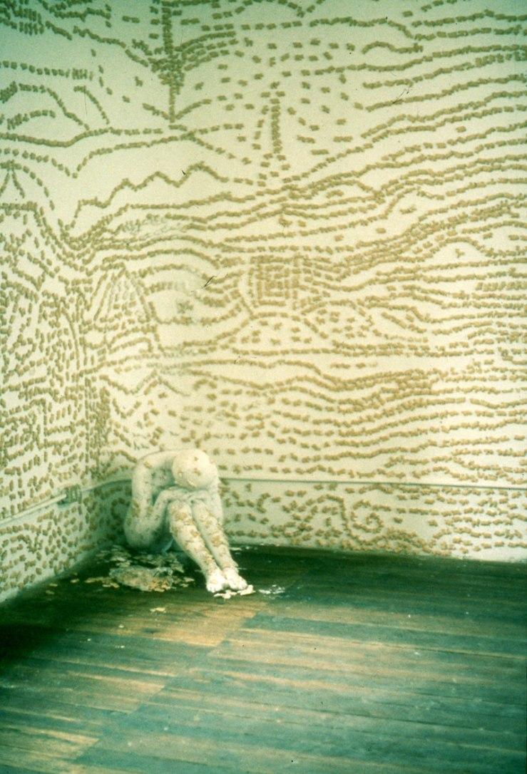 Piel,pared,galleta,-performance,1995(2)